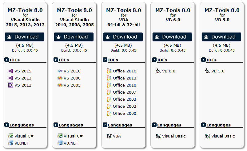 Moving from MZ-Tools 3 0 to MZ-Tools 8 0 | The blog of MZ