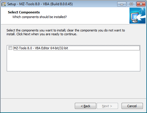 Moving from MZ-Tools 3 0 to 8 0 Part 2: The Setup | The blog