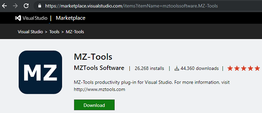 MZ-Tools 8 0 Help